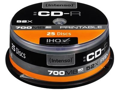 Intenso Intenso CD - R 700 MB Printable