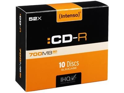 Intenso CD-R 700 MB 10 Slim Case