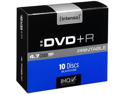 Intenso Intenso DVD+R Printable  (4,7GB)