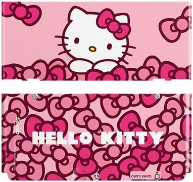 Nintendo N3DS Cover - Hello Kitty