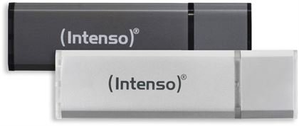 Intenso Alu Line USB 2.0 (32GB) 2er Pack (anthrazit/silber)