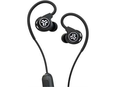 JLAB Fit Sport Wireless Fitness Earbuds Black (black)