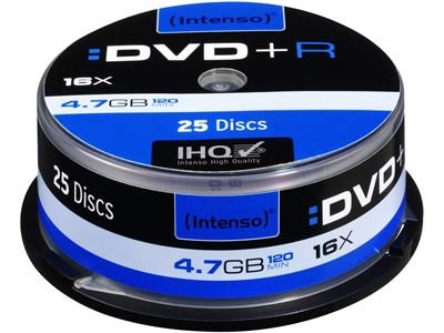Intenso DVD+R 4.7 GB 25er Spindel